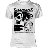 Discharge: Hear nothing (white)