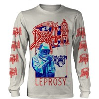 Death: Leprosy blue & red (white)