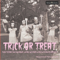 V/A: Trick or treat - music to scare your neighbours - Vintage 45S from Lux and ivy's haunted basement
