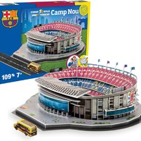 Barcelona F.C.: Camp Nou (3D Stadium)