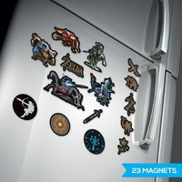 Nintendo: Legend of Zelda Magnets