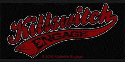 Killswitch Engage: Baseball logo (patch - packaged)