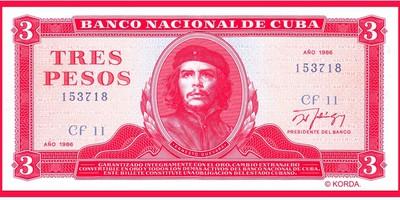 Guevara, Che: Tres pesos (patch)