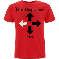 Three Days Grace: Outsider (red)