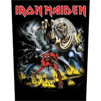 Iron Maiden: Number of the beast (backpatch)