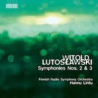 Lintu, Hannu: Symphonies nos. 2 & 3