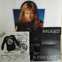 Whitesnake: Is This Love - Shaped Picture Disc