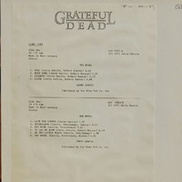 Garcia, Jerry: Garcia (1972)
