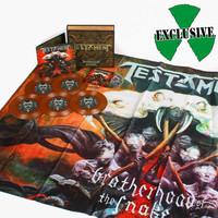 Testament : Brotherhood Of The Snake -limited edition box set-