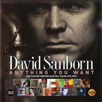 Sanborn, David: Anything you want ~ the warner / reprise / elektra years (1975-1999): 3cd digipak