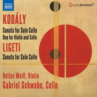 Schwabe, Gabriel: Sonata for cello solo; duo for violin & cello; sonata for solo cello