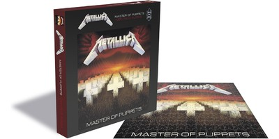 Metallica: Master of puppets (1000 piece jigsaw puzzle)