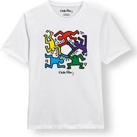 Keith Haring: Multi stickmen