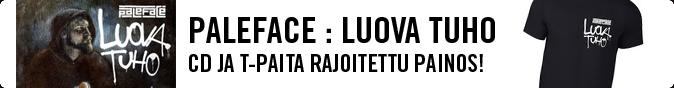 Paleface : Luova tuho, CD+T-paita rajoitettu painos!